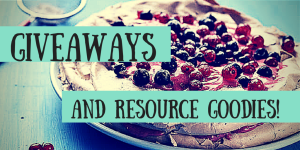 GIVEAWAYS AND RESOURCE GOODIES