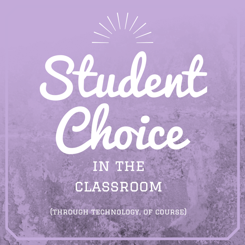 Student Choice in the Classroom