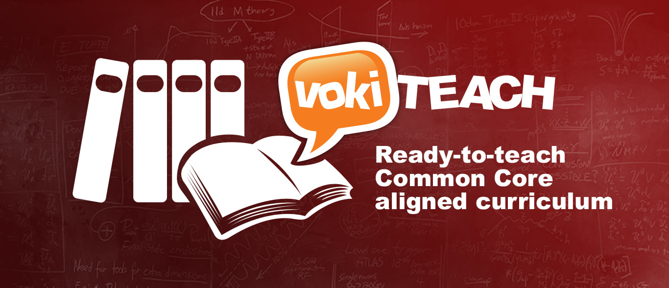 Voki Teach: An Engaging Way to Teach Common Core