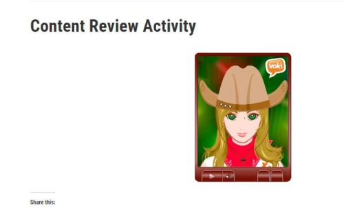 content review activity