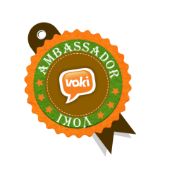 Voki Ambassador Badge